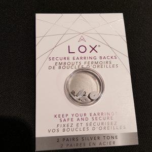 Veiligheidsslotjes voor oorstekers De Lox – Zilver
