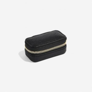 STACKERS Mini Travel Jewellery Box Black