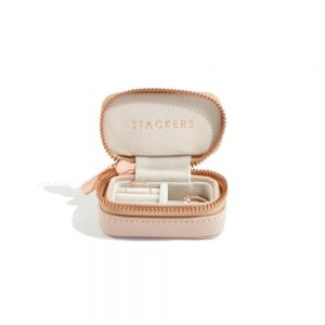STACKERS Mini Travel Jewellery Box Blush & Gray