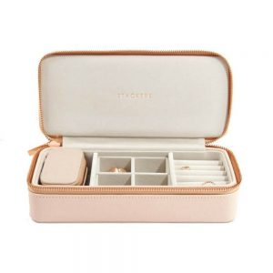 STACKERS XL Travel Jewellery Box Blush & Gray