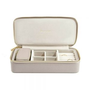 STACKERS XL Travel Jewellery Box Taupe & Gray